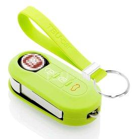 TBU car Fiat Car key cover - Lime green