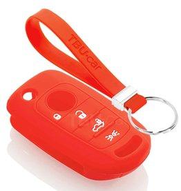 TBU car Fiat Funda Carcasa llave - Rojo