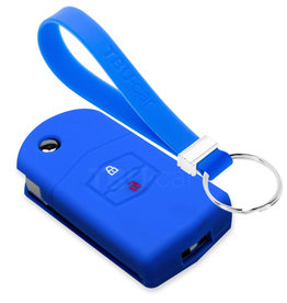 TBU car Mazda Car key cover - Blue
