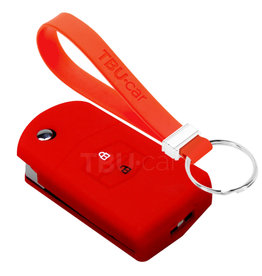 TBU car Mazda Car key cover - Red