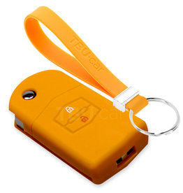 TBU car Mazda Car key cover - Orange