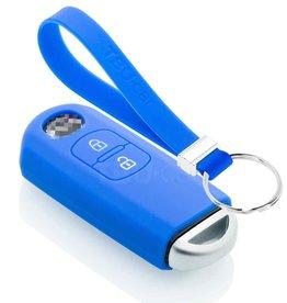 TBU car Mazda Funda Carcasa llave - Azul