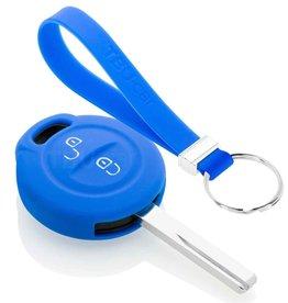 TBU car Mitsubishi Car key cover - Blue