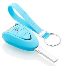TBU car Porsche Sleutel Cover - Lichtblauw