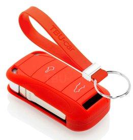 TBU car Porsche Funda Carcasa llave - Rojo
