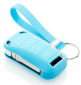 TBU car Porsche Funda Carcasa llave - Azul claro