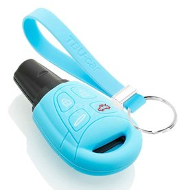 TBU car Saab Car key cover - Light Blue