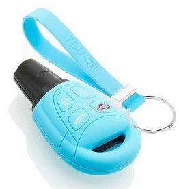 TBU car Saab Sleutel Cover - Lichtblauw