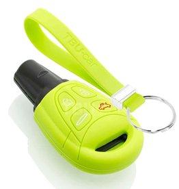 TBU car Saab Sleutel Cover - Lime groen