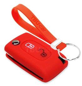 TBU car Citroën Car key cover - Red