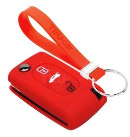 TBU car Fiat Sleutel Cover - Rood