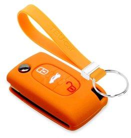 TBU car Fiat Sleutel Cover - Oranje