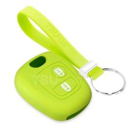 TBU car Peugeot Sleutel Cover - Lime groen