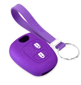 TBU car Peugeot Funda Carcasa llave - Violeta