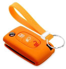TBU car Peugeot Funda Carcasa llave - Naranja