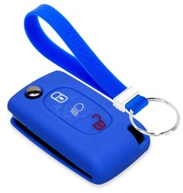 TBU car Peugeot Funda Carcasa llave - Azul