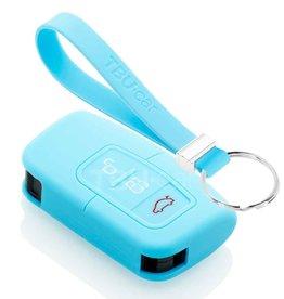 TBU car Ford Funda Carcasa llave - Azul claro