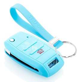 TBU car Hyundai Funda Carcasa llave - Azul claro