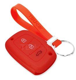 TBU car Hyundai Funda Carcasa llave - Rojo