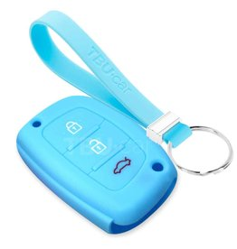 TBU car Hyundai Schlüsselhülle - Hellblau