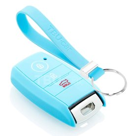 TBU car Hyundai Car key cover - Light Blue