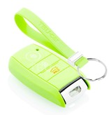 TBU car TBU car Sleutel cover compatibel met Kia - Silicone sleutelhoesje - beschermhoesje autosleutel - Glow in the Dark