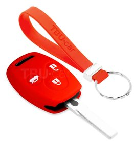 TBU car Honda Funda Carcasa llave - Rojo