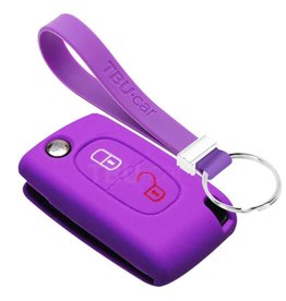 TBU car Citroën Car key cover - Purple