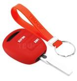 TBU car TBU car Sleutel cover compatibel met Lexus - Silicone sleutelhoesje - beschermhoesje autosleutel - Rood