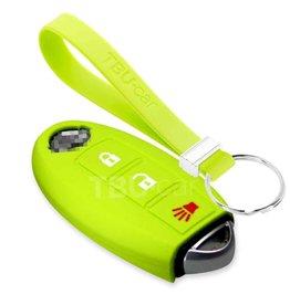 TBU car Nissan Funda Carcasa llave - Verde lima