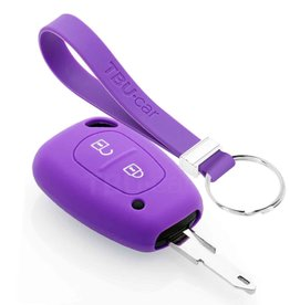 TBU car Nissan Funda Carcasa llave - Violeta
