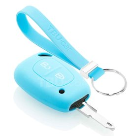 TBU car Nissan Schlüsselhülle - Hellblau
