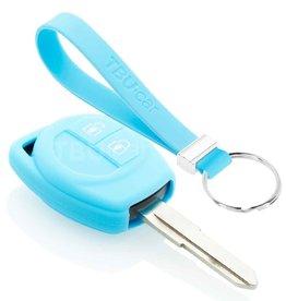 TBU car Nissan Funda Carcasa llave - Azul claro