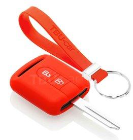 TBU car Nissan Funda Carcasa llave - Rojo