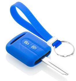 TBU car Nissan Funda Carcasa llave - Azul