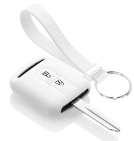 TBU car Nissan Car key cover - White