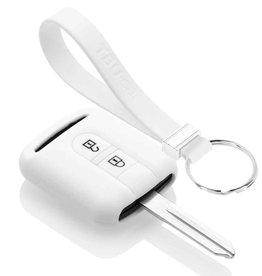 TBU car Nissan Funda Carcasa llave - Blanco