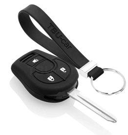 TBU car Nissan Funda Carcasa llave - Negro