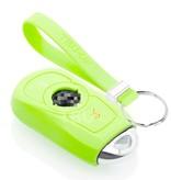TBU car TBU car Autoschlüssel Hülle kompatibel mit Opel 3 Tasten (Keyless Entry) - Schutzhülle aus Silikon - Auto Schlüsselhülle Cover in Im Dunkeln leuchten