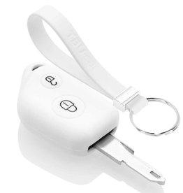TBU car Peugeot Funda Carcasa llave - Blanco