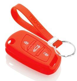 TBU car Peugeot Car key cover - Red