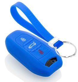 TBU car Peugeot Car key cover - Blue