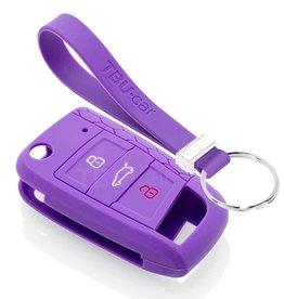 TBU car Volkswagen Funda Carcasa llave - Violeta