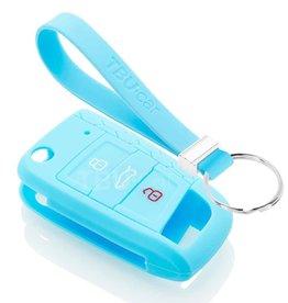 TBU car Volkswagen Funda Carcasa llave - Azul claro