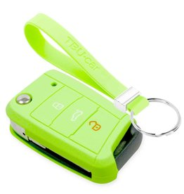 TBU car Skoda Car key cover - Glow in the Dark