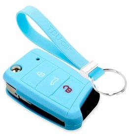 TBU car Skoda Sleutel Cover - Lichtblauw