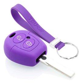 TBU car Skoda Car key cover - Purple