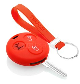 TBU car Smart Funda Carcasa llave - Rojo