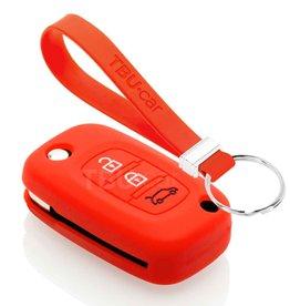 TBU car Smart Sleutel Cover - Rood