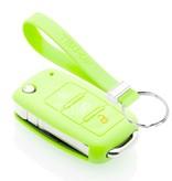 TBU car TBU car Sleutel cover compatibel met Audi - Silicone sleutelhoesje - beschermhoesje autosleutel - Glow in the Dark